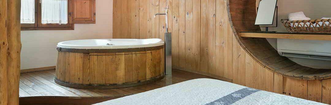 Aguas del PARQUE de Ponga, alojamiento con jacuzzi en Asturias