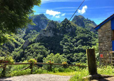 Casa en la montaña. Asturias