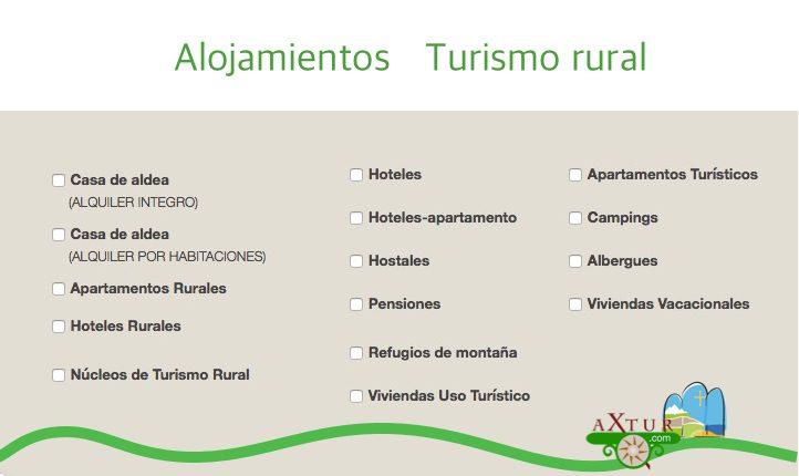 Alojamientos de turismo rural en Asturias