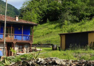 El alojamiento rural Aguas del Sella es un apartamento rural