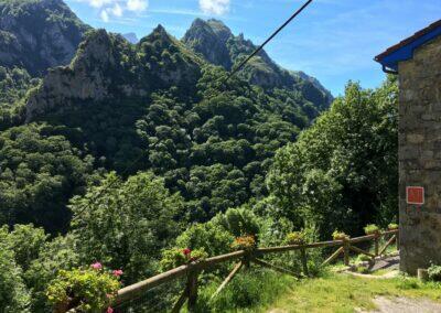 Alojamientos de Asturias. Casa rural en el bosque