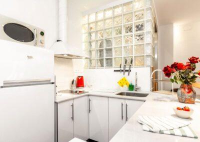 Loft en Oviedo detalles cocina